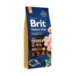 Brit Premium by Nature Adult Medium Breed 15 kg