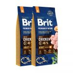 Brit Premium by Nature Adult Medium Breed 2x15 kg