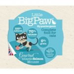Little BigPaw Cat Gourmet Atlantic Salmon Mousse 85gr