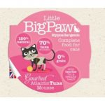 Little BigPaw Cat Gourmet Atlantic Tuna Mousse 85gr