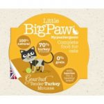 Little BigPaw Cat Gourmet Tender Turkey Mousse 85gr
