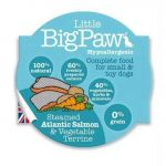Little BigPaw Steamed Atlantic Salmon & Vegetables 85 g