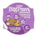 Little BigPaw Tender Duck & Vegetable Dinner 85 g