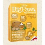 Little BigPaw Traditional Turkey & Vegetable Dinners  150 g