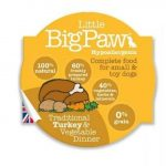 Little BigPaw Traditional Turkey & Vegetable Dinners  85 g