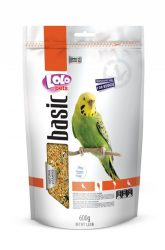 Lolo Basic - Complete food for budgies 600 g Doypack