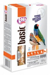 Lolo Basic - Complete food for zebra finch & exotic birds 500 g