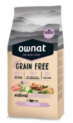 Ownat Cat Just Grain Free Sterilized 3 kg