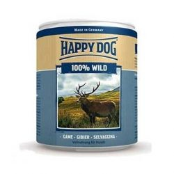 Happy Dog Wild Pur - Vadhúsos konzerv 400g