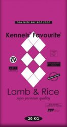 Kennels' Favourite Lamb & Rice 20 kg