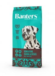 Visán Banters Dog  Adult Sensitive Fish & Potato 15 kg