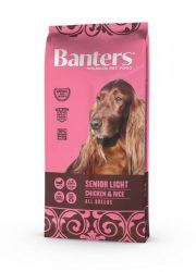 Visán Banters Dog  Adult Senior & Light 15 kg