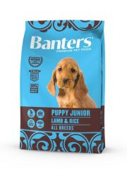 Visán Banters Dog Puppy & Junior Lamb & Rice 3 kg