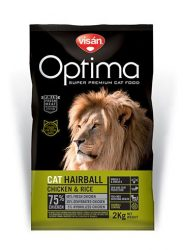 Visán Optimanova Cat Hairball 2 kg