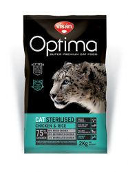 Visán Optimanova Cat Sterilised 8 kg